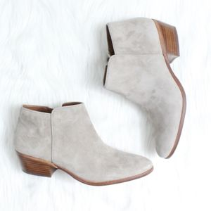 ee2dea3adba Sam Edelman Shoes - SAM EDELMAN Petty Chelsea Boot in Putty Suede